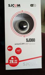 Original sjcam sj360 2k video cam