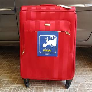 """Koper Luggage STRATIC RED Original Made In Germany size 26"""""""