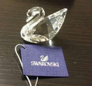 Swarovski 天鵝水晶擺設連座(正版)
