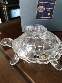Crystals turtle container