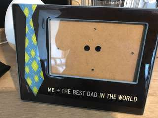 Photo Frame 4R (me+dad)