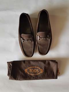 ORI TOD'S Suede Loafers