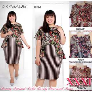 Dress XXXL Beauty Batik Variant color Lovely Oversized Irma.