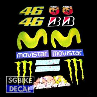 Yamaha Reflective Set Movistar