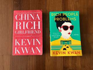 2 Crazy Rich Asians Book: China Rich Girlfriend and Rich People Problems Novel