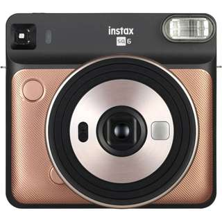 New Fujifilm Instax SQUARE SQ6 Instant Film Camera (Free Square Instant Film Twin Pack + SQ6 SUEDE Case + Battery Charger)