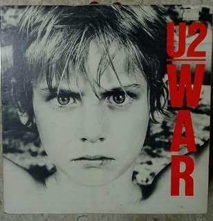 """U2 WAR 12""""Vinyl Record"""