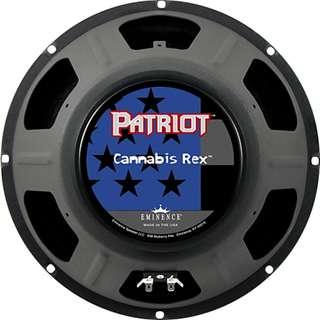 Eminence 12 inch Cannabis Rex guitar amplifier speaker