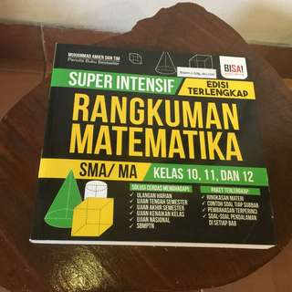 Super intensif rangkuman matematika kelas 10,11,12