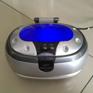 Ultrasonic Jewelry and Watch Cleaner Machine 35w