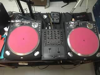 Numark TTXUSB turntable 2pcs [rane 57sl not included]