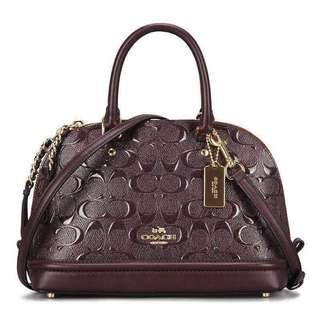 Coach Satchel Bag Glossy