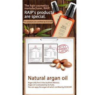 R3 Argan Hair Oil