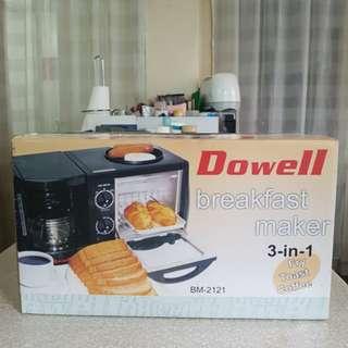 Dowell 3-in-1 Breakfast Maker