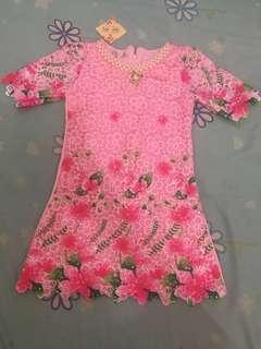Promo! Jual Rugi#Dress fashion anak warna pink