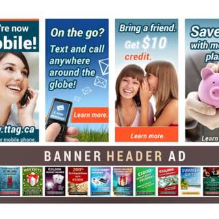 🚚 Design A Professional Web Banner, Header, Ads, Cover