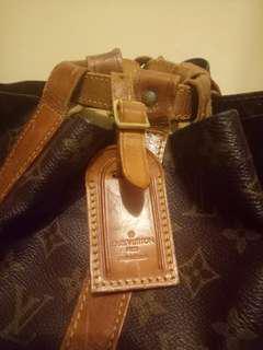 Authentic  Louis Vuitton Monogram RANDONEE GM back pack. Vintage and rare item.