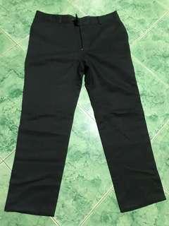 Black male slacks/pants