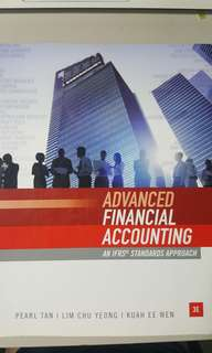 Advanced Financial Accounting textbook