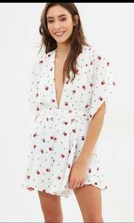 "Lioness Printed ""Warhol"" Romper Playsuit as S $90!"