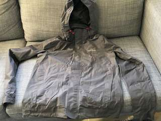 Very light rain jacket