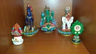 Green Tara set