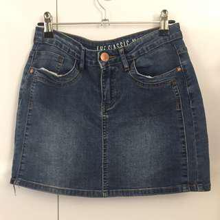 Cotton On Classic Mini Denim Skirt