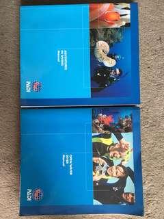 PADI Open & Advanced Dive Manual