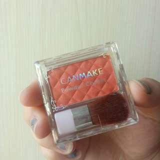 Cammake power cheeks 橘紅色腮紅💕