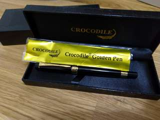 Crocodile Golden Pen