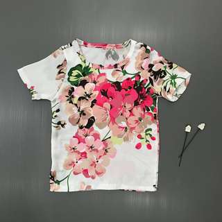 Kids Girl Floral Colourful Top