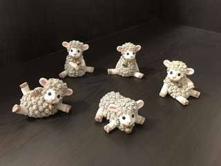 Little Sheep ornaments