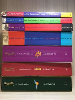 Harry Potter Book 1-7