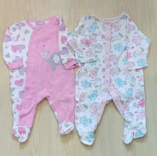 Baby Girl Sleepsuit