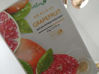 Grapefruit Mask (5pc) Nature Republic/Always21