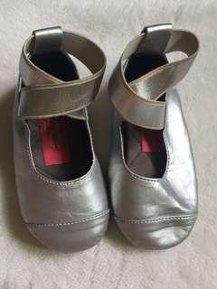 THPM Silver Ballet Shoes