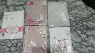 Sale!!! Womens inner wear tshirt and 3/4 maliit size M&L