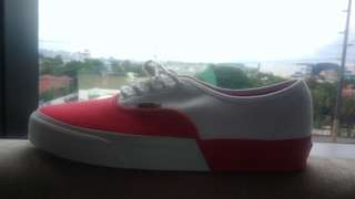 Vans Authentic DX Red and White