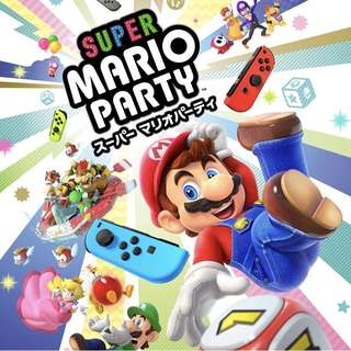 Switch Super Mario Party 預訂