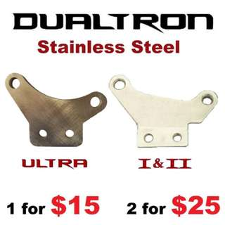 Dualtron Bracket Stainless Steel Brake Adapter Y Bracket------(M9020 M8020 M8000 M7000 M675 M315 MT2 MT4 MT5 MT5E MT6 MT7 MT8 MT Trail)