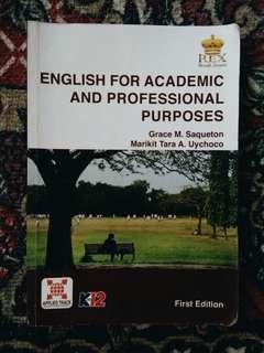 English (Grade 11 STEM)