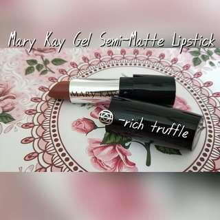 Mary Kay Gel Semi-Matte Lipstick [Rich Truffle]