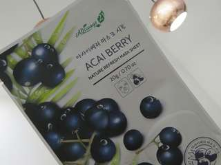 Acai Berry Mask 5pc Nature Republic/Always 21