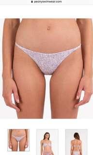 Peony Bikini Bottom