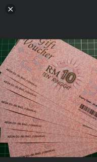 Free rm10 aeon voucher jusco coupon expired june2020