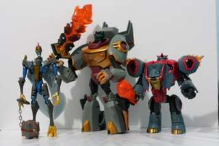 transformer animated dinobots