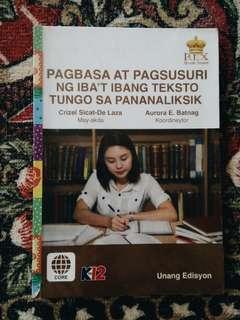 Pagbasa (Grade 11 STEM)