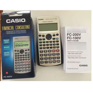Casio Financial Calculator - NEW