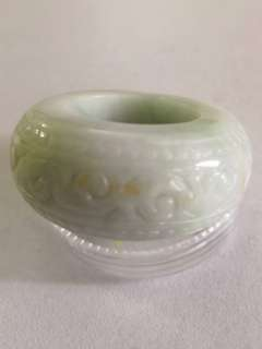 Rare Antique Jade Thumb Ring