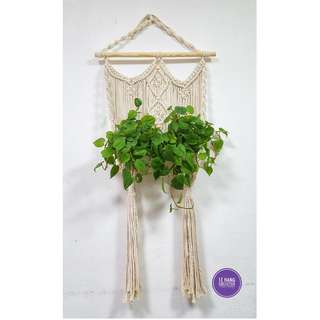 🖐 Handmade Macrame Plant Hanger 🖐 H009